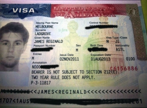 My USA Visa, Something that  I found very thrilling to obtain