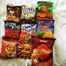 Dubai snacks, I love trying new things