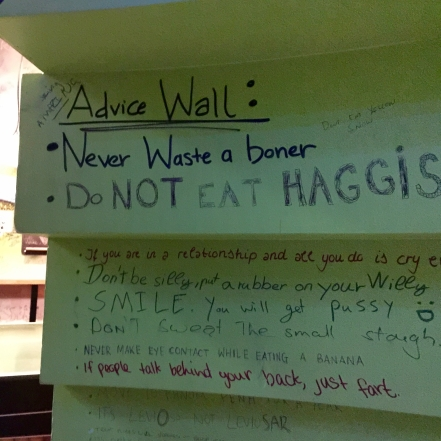 Do not eat haggis