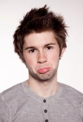 Jimmy Ladgrove sad face