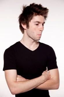 Beardless photoshoot Jimmy Ladgrove