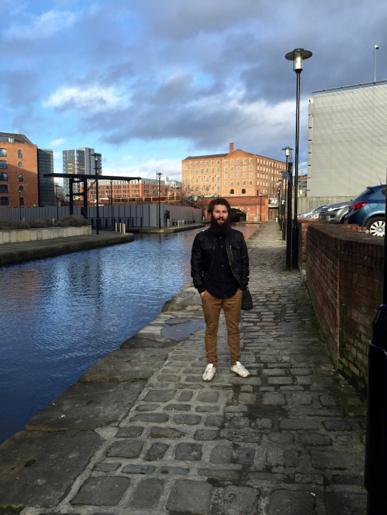 Jimmy Ladgrove in Manchester